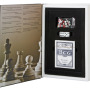 Набор «Книга Игр» c афоризмами знаменитых людей об игре: шахматы, нарды, кости, колода карт