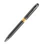 Шариковая ручка, металл., нажимной механизм, iP, силиконовый стилус
