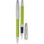 Набор: ручка шариковая и роллер в футляре
