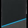 Блокнот Raja 13,4х20 см., голубой